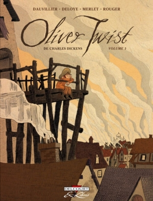 Couverture Oliver Twist, tome 1