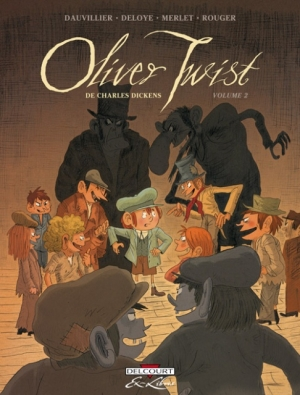 Couverture Oliver Twist, tome 2