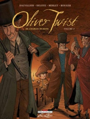 Couverture Oliver Twist, tome 3