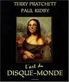 Couverture L'Art du Disque-monde Editions L'Atalante (La Dentelle du cygne) 2007