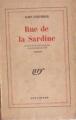 Couverture Rue de la sardine Editions Gallimard  (Du monde entier) 1947