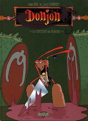 Couverture Donjon crépuscule, tome 101 : Le cimetière des dragons