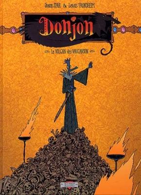 Couverture Donjon crépuscule, tome 102 : Le volcan des Vaucanson
