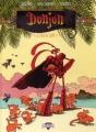 Couverture Donjon crépuscule, tome 104 : Le dojo du lagon Editions Delcourt (Humour de rire) 2005