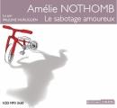 Couverture Le sabotage amoureux Editions Thélème 2014