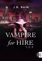 Couverture Vampire for hire, intégrale Editions J'ai Lu 2017