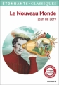 Couverture Récits de voyage, tome 1 : Le Nouveau Monde Editions Flammarion (Etonnantiss!mes) 2016