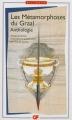 Couverture les métamorphoses du graal Editions Flammarion (GF - Bilingue) 2012