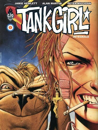 Couverture Tank Girl Intégrale