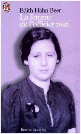 Couverture La Femme de l'officier nazi, illustrée