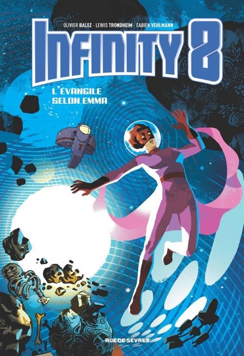 Couverture Infinity 8, tome 3 :  L'Évangile selon Emma