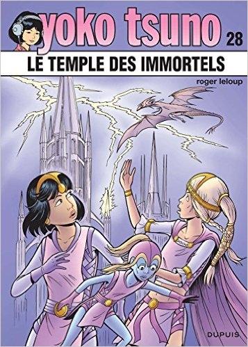 Couverture Yoko Tsuno, tome 28 : Le temple des immortels