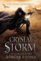 Couverture Le dernier royaume, tome 5 : L'ouragan de cristal Editions Razorbill 2016