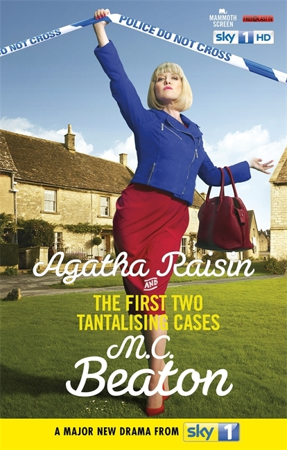 Couverture Agatha Raisin and the first two tantalising cases