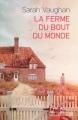 Couverture La ferme du bout du monde Editions Préludes 2017