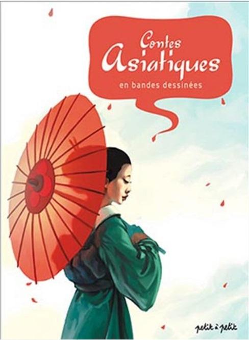 Couverture Contes asiatiques en bandes dessinées