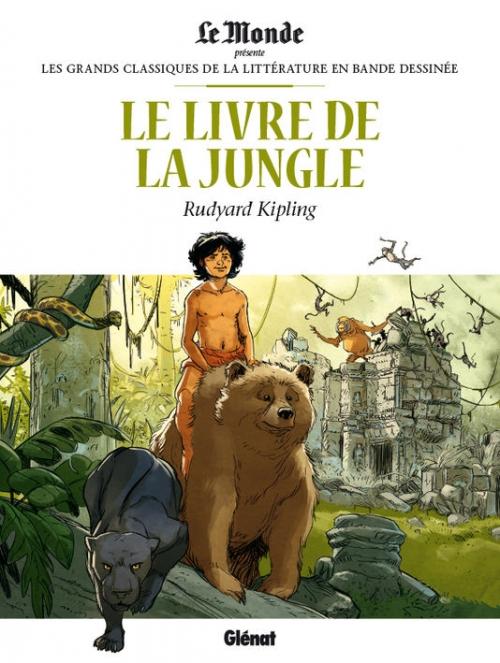 Couverture Le livre de la jungle (BD)