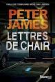 Couverture Lettres de chair Editions Fleuve (Noir) 2017