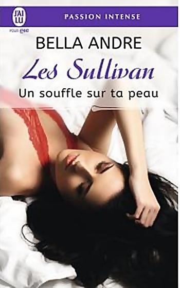 Couverture Les Sullivan, tome 8 : Un souffle sur ta peau