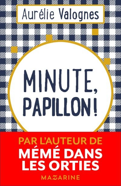Couverture Minute papillon
