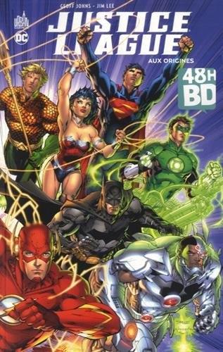 Couverture Justice League (Renaissance), tome 01 : Aux origines