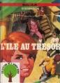Couverture L'île au trésor Editions René Touret (L'arbre rond) 1977