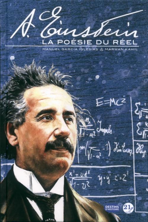 Couverture Albert Einstein : La poésie du réel