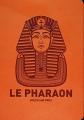 Couverture Le Pharaon Editions L'Atalante 2017