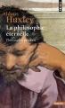 Couverture La philosophie éternelle Editions Points 1977