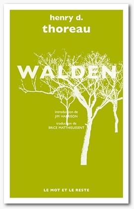 Couverture Walden ou la vie dans les bois / Walden