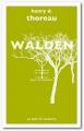 Couverture Walden ou la vie dans les bois / Walden Editions Le mot et le reste 2017