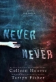 Couverture Never never, tome 2 Editions Hoover Ink 2015