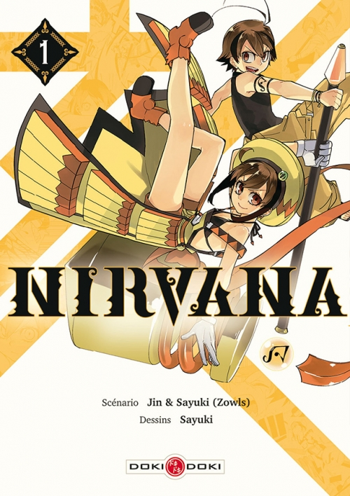 Couverture Nirvana, tome 1