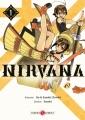 Couverture Nirvana, tome 1 Editions Doki Doki 2017