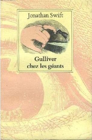Couverture Gulliver chez les géants