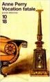 Couverture Vocation fatale Editions 10/18 (Grands détectives) 2000