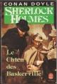 Couverture Sherlock Holmes, tome 5 : Le Chien des Baskerville Editions Le Livre de Poche 1988