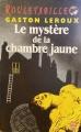 Couverture Le mystère de la chambre jaune Editions Le Livre de Poche 1974