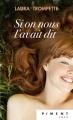 Couverture Si on nous l'avait dit Editions France Loisirs (Piment - Rose) 2017
