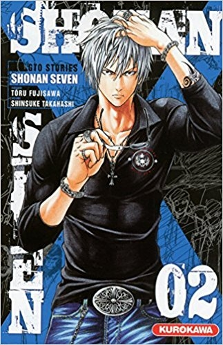 Couverture Shonan Seven, tome 02