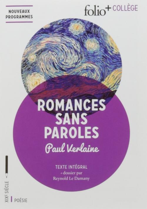 Couverture Romances sans paroles
