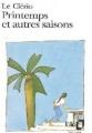 Couverture Printemps et autres saisons Editions Folio  1995