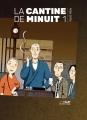 Couverture La cantine de minuit, tome 01 Editions Le lézard noir 2017