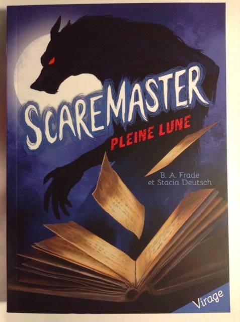 Couverture Scaremaster, tome 1 : Pleine Lune