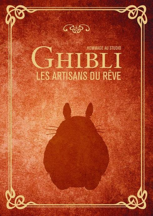 Couverture Hommage au studio Ghibli, les artisans du rêve
