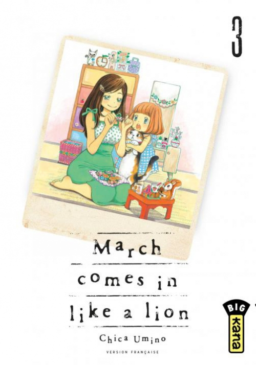 Couverture March comes in like a lion, tome 03