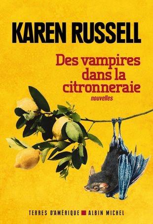 Couverture Des vampires dans la citronneraie