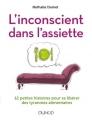 Couverture L'inconscient dans l'assiette Editions Dunod 2017