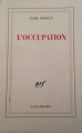 Couverture L'Occupation Editions Gallimard  (Blanche) 2002
