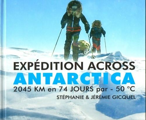 Couverture Expédition across Antartica